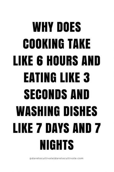 funny life quotes - cooking