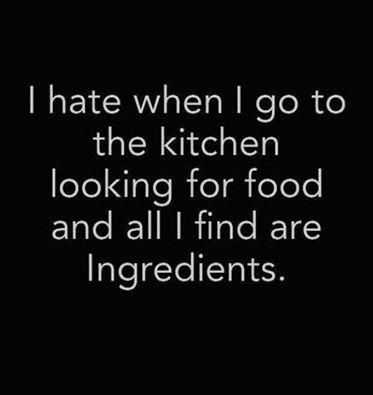 life quotes about food - kitchen