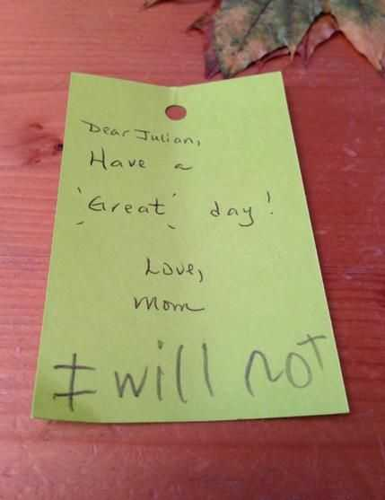 funny kid pictures - i will not