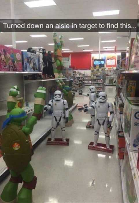 silly kid pics - storm troopers