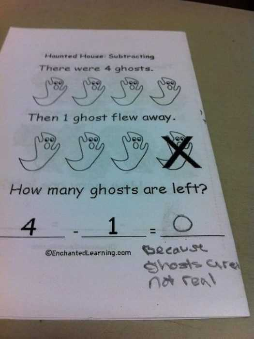 silly kid pics - real ghosts