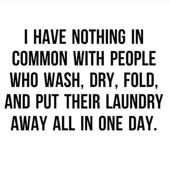 Funny life quotes - laundry