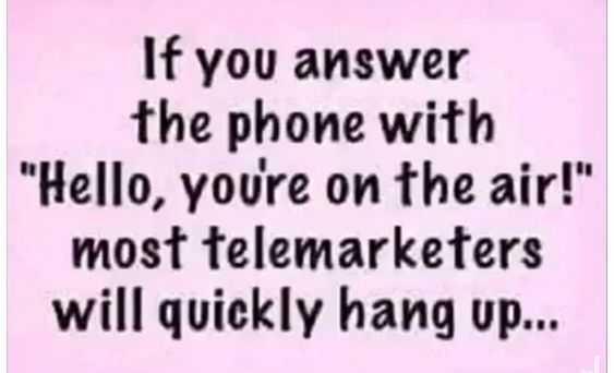 funny life quote - phone etiquette