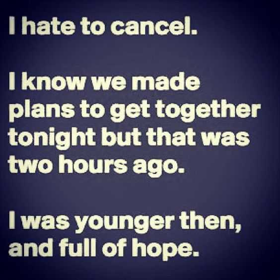 life quotes - canceling