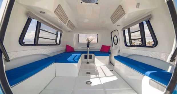 The Happier Camper - Alternative Interior