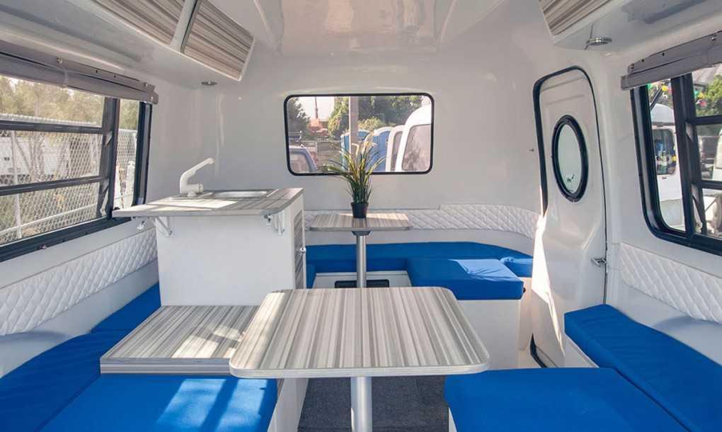 The Happier Camper - Interior