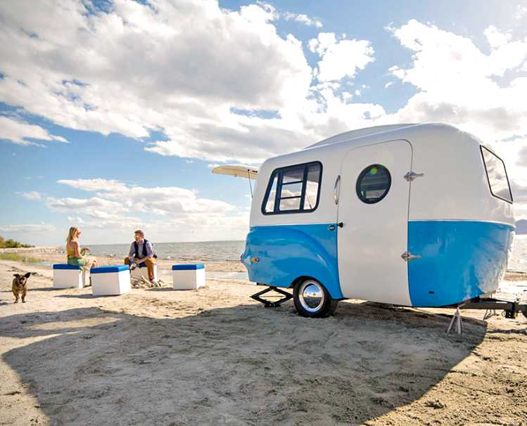 The Happier Camper - At The Beach