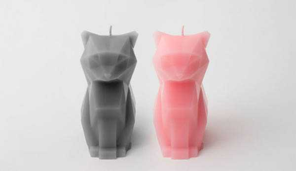 Skeleton Candle - Cats