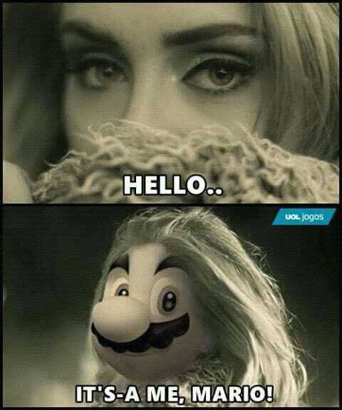Funny Images Clean - Mario