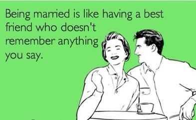 Hilarious Marriage Memes - husbands