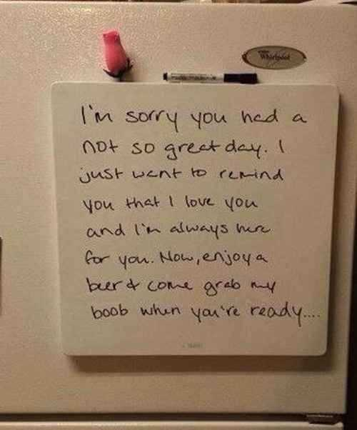 Funny Marriage Meme - love notes