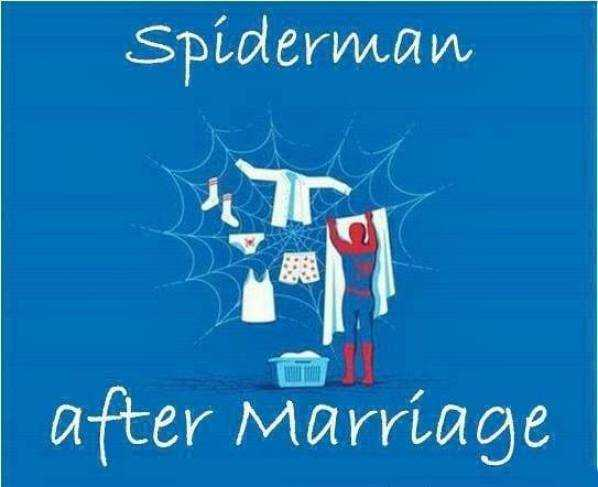 Hilarious Marriage Meme - making use of that great responsibility