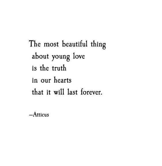 Poetic Quotes - Beauty Of Young Love