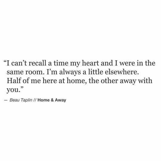 Poetic Quotes - Home And Away