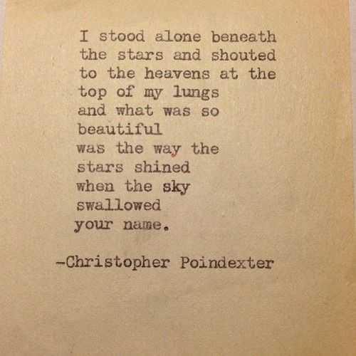 Poetic Quotes - Stars