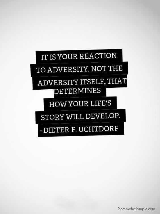 Quotes on adversity