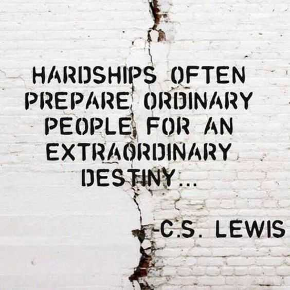 Quotes for the hard times