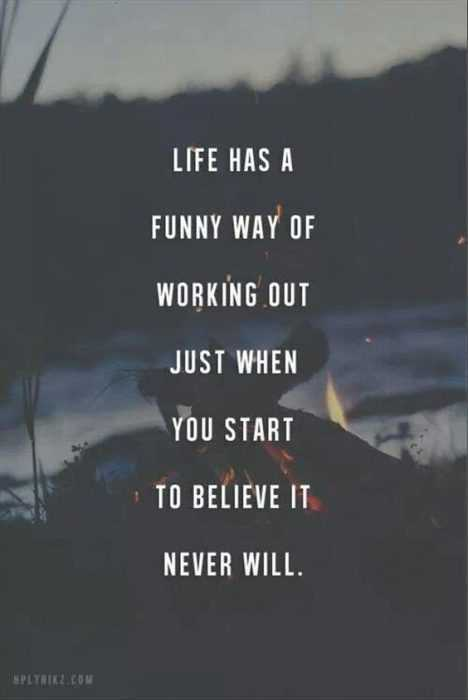 Quotes on life changes