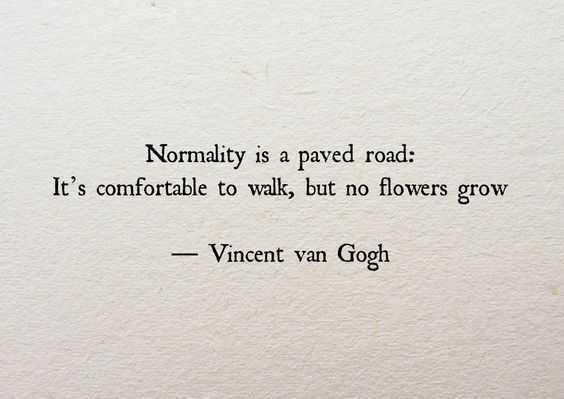 inspirational life quotes - normality