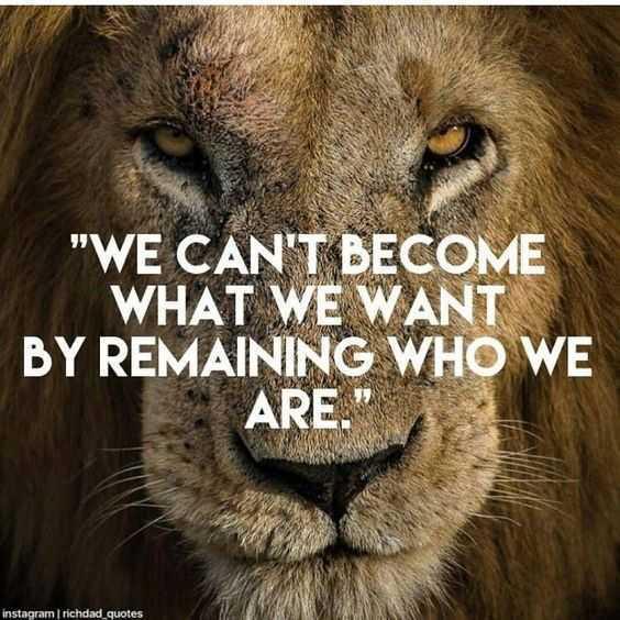 Quotes on needing change