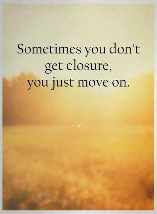 inspirational life quotes - moving on