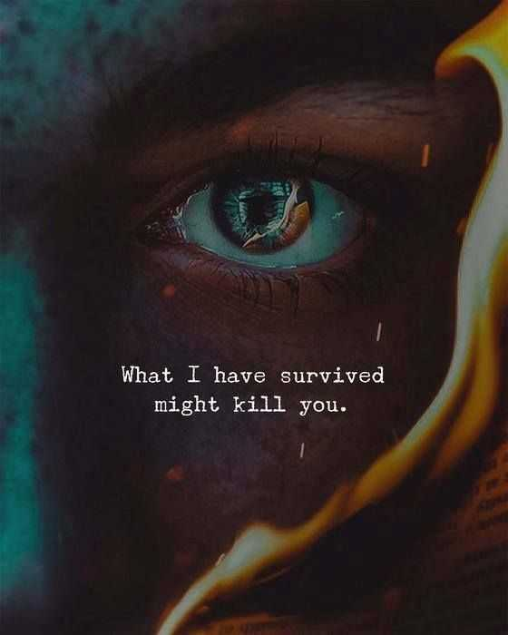 Quotes on survival