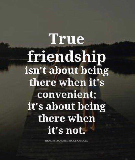 inspirational life quotes - true friendship