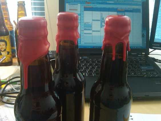 Crayon Diy Crafts - Wine Bottle Seal