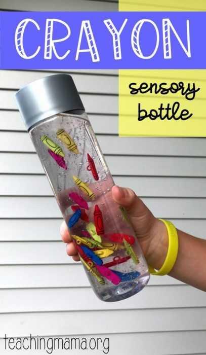 Crayon Diy Crafts - Sensory Bottle