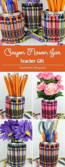 Crayon Diy Crafts - Mason Jar
