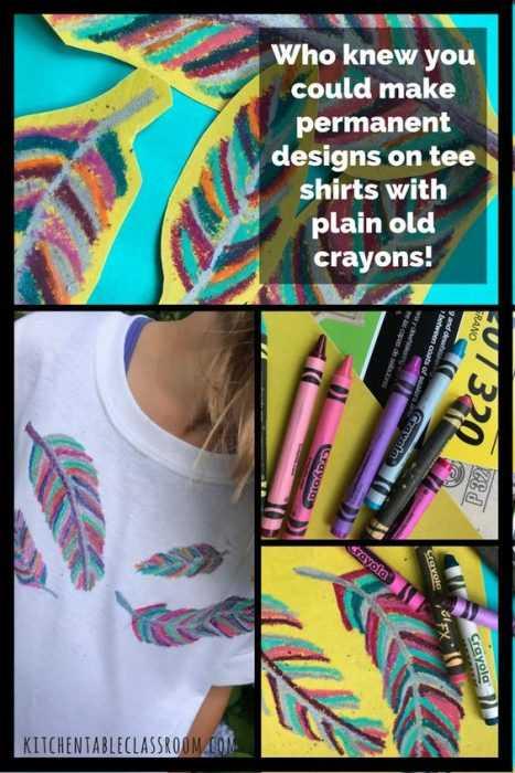 Crayon Diy Crafts - T-Shirt