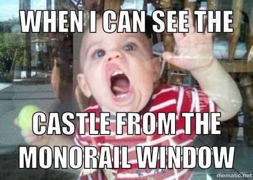 disney memes funny - see castle
