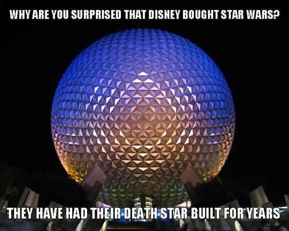 disney memes funny - disney death star