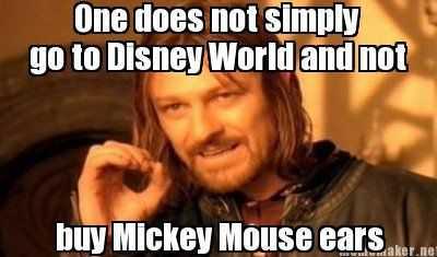 disney memes funny - mickey mouse ears