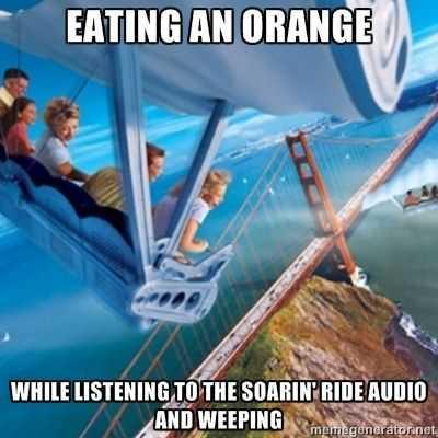disney memes funny - eating an orange