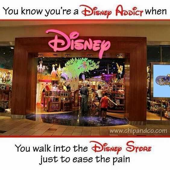 disney memes funny - walk into disney store