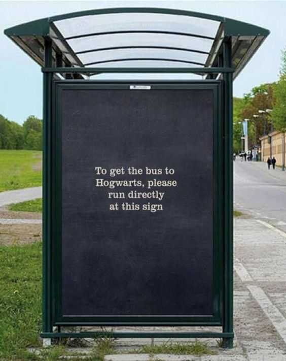 funny sign meme - bus stop