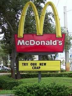 funny signs - new crap