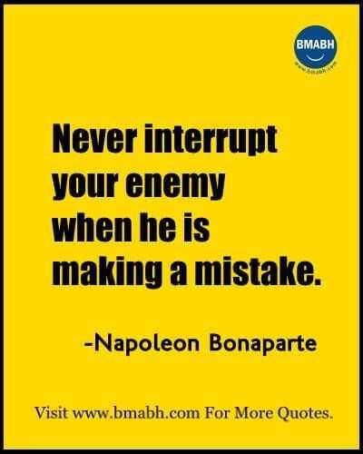 Funny Quote about Life - enemies