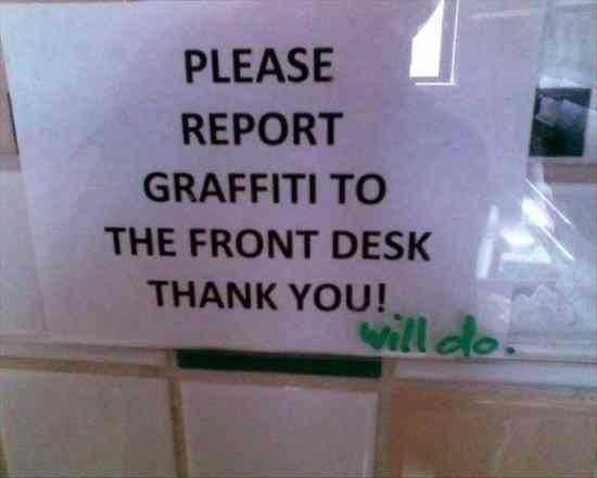 funny signs - graffiti