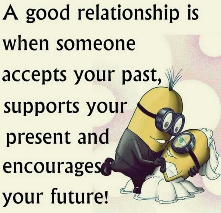 Great Minion Quotes - relationship