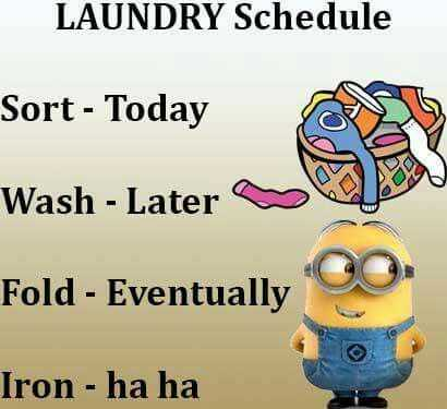 Great Minion Quotes - laundry