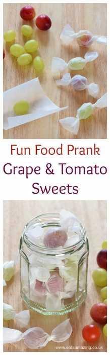 funny april fools pranks - candy grapes