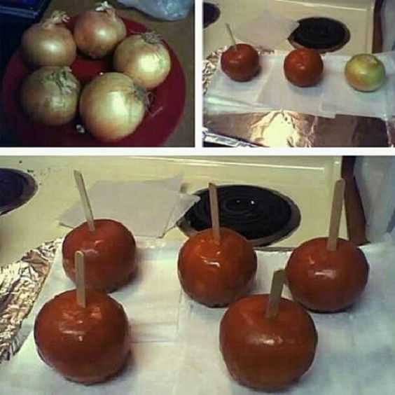 funny april fools pranks - candied onion