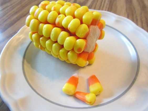 funny april fools pranks - fake corn on a cob