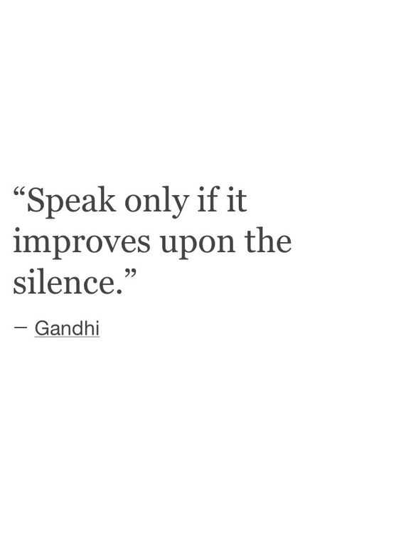 great inspirations for life - speak only