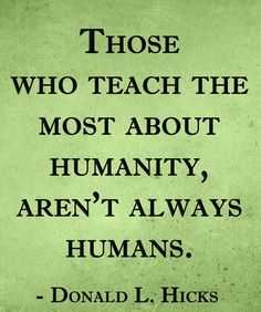 Animal Lover Quotes - Humanity