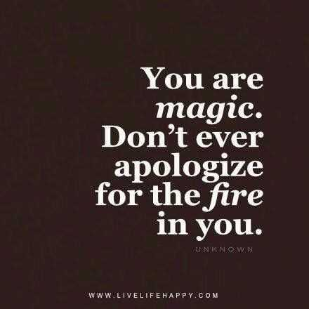 great inspirational quotes on life - fire