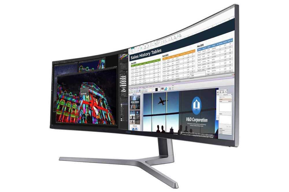 Gaming Monitor - Samsung Wide Gaming Monitor