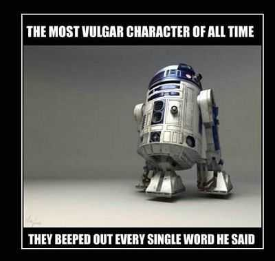 funny Star Wars Memes - r2d2 this!